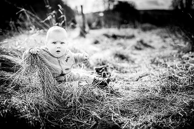 Natürliche Kinderfotografie